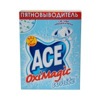 Пятновыводитель Ace Bio OXI Magic White 500гр